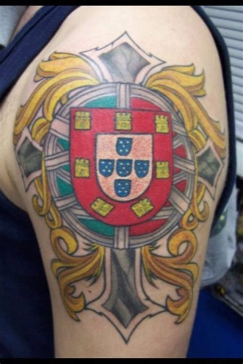 portuguese cross tattoo 30 coat of arms tattoos tattoofanblog