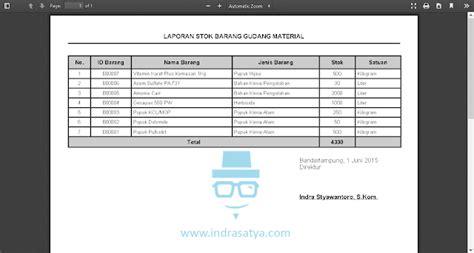 layout gudang material sistem informasi persediaan barang gudang material indra