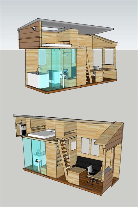 small houses projects alek s tiny house project