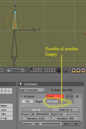 blender tutorial inverse kinematics blender ik inverse kinematics o como mover el conjunto