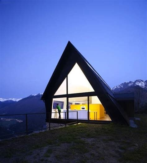 Triangle Roof Design Triangles In Architectural Designs Taking Modern Houses