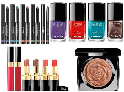 Chanel Summer Exclusive Colour Collection 2007 by Chanel Summer 2015 Makeup Collection Mediterrannee