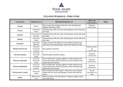 cleaning plan template best 25 cleaning schedule templates ideas on