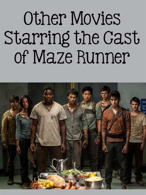 aktor film maze runner other movies the cast of maze runner the scorch trials