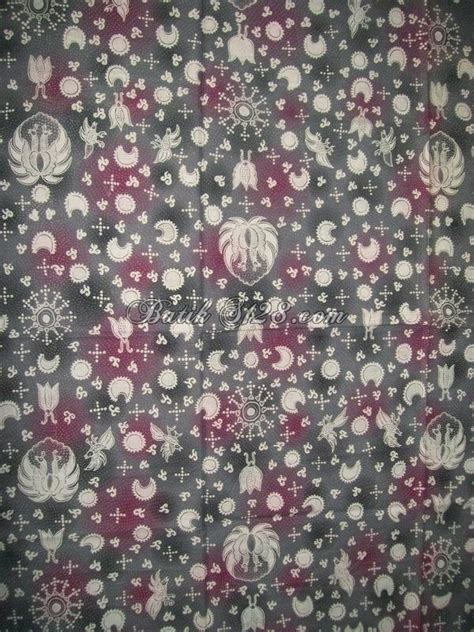 Kain Batik Jumputan Handmade Warna Ungu kain batik murah warna ungu asli k274 toko batik 2018