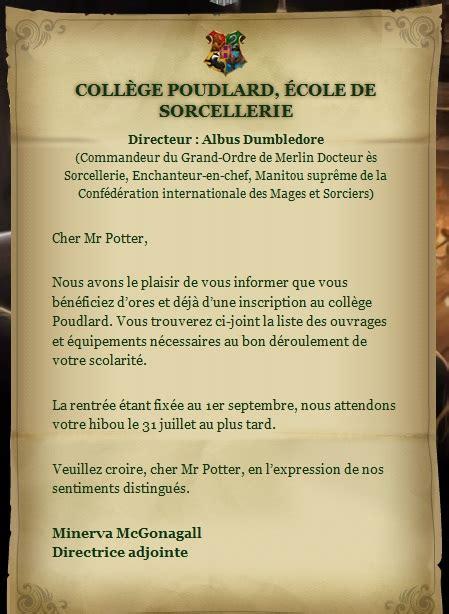 Lettre De Bienvenue Ecole Bienvenue 224 Poudlard Une 233 Cole Pour Sorcier Potterville