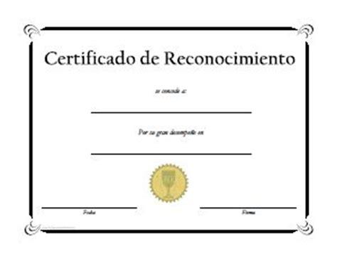 certificados de reconocimiento en blanco newhairstylesformen2014com las 25 mejores ideas sobre diplomas de reconocimiento en