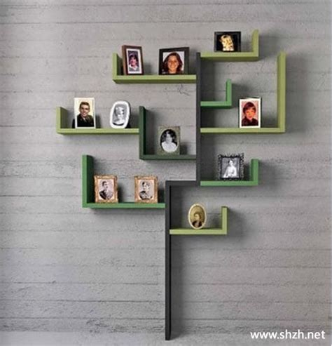 Po Hiasan Pohon Natal Kayu Wooden Tree Decorations 1 挂在墙上书架的装修攻略 上海装潢网