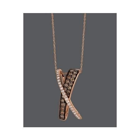 Whites Plumbing West Ct by Le Vian Necklace 14k Gold Chocolate