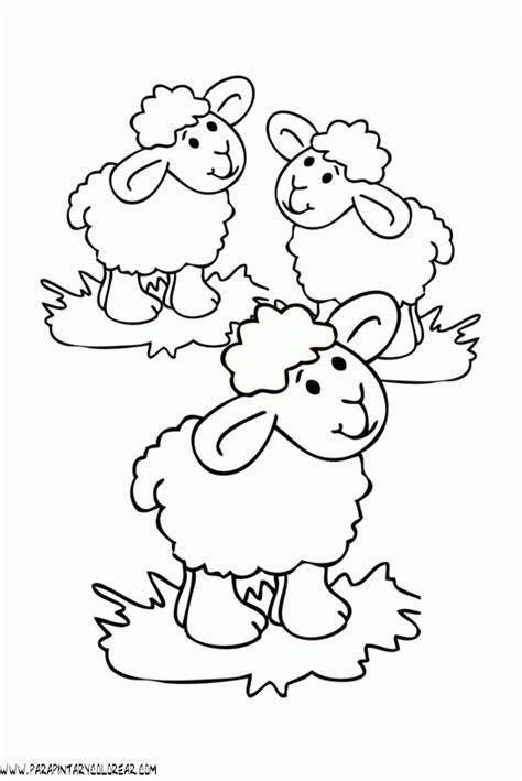 imagenes de ovejas faciles para dibujar dibujos de ovejas 032