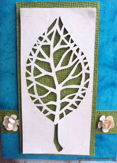 easy card template for paper cutting just like that aesthetics in and design
