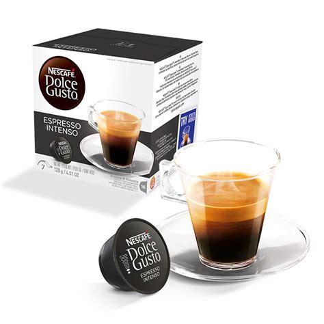 dolce gusto espresso intenso caf 233 espresso intenso nescaf 201 174 dolce gusto 174