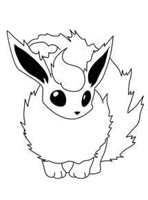 25 Best Ideas About Pokemon Flareon On Pinterest Flareon Coloring Pages