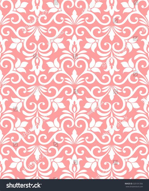 pink and white pattern wallpaper floral pattern wallpaper baroque damask seamless