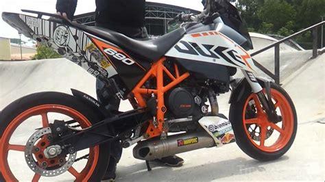 Akrapovic Ktm 690 2011 Ktm Duke 690 Akrapovic Race Exhaust