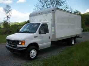 ford e350 2006 box trucks