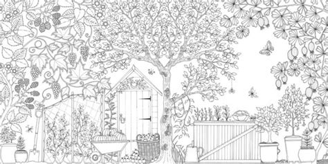 secret garden coloring book page one coloring books for grown ups calvin was right