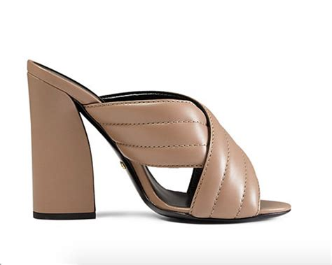 Cross High Heel Sandals shoe of the day gucci sylvia criss cross high heel sandals
