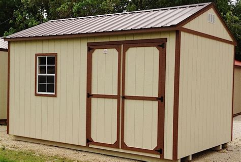 Waterproof Sheds by Garden Shed Show Me Outdoor Products