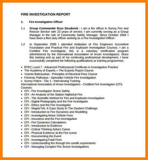 investigative consumer report sle sle incident reports ic incident report form