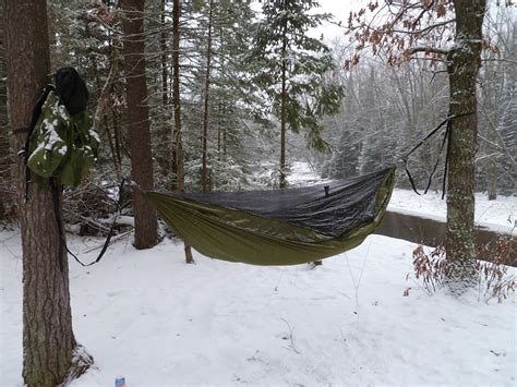 Hammock Winter panoramio photo of winter hammock cing