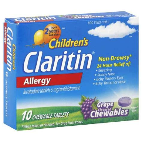 can i give my claritin claritin crew member