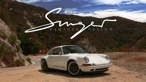 singer porsche red singer vehicle design a reinven 231 227 o do porsche 911 youtube