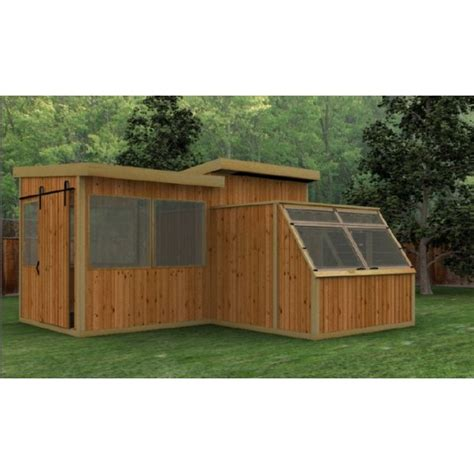 greenhouse shed combination plans  xxxx