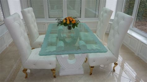 etched glass dining table tables sans soucie glass