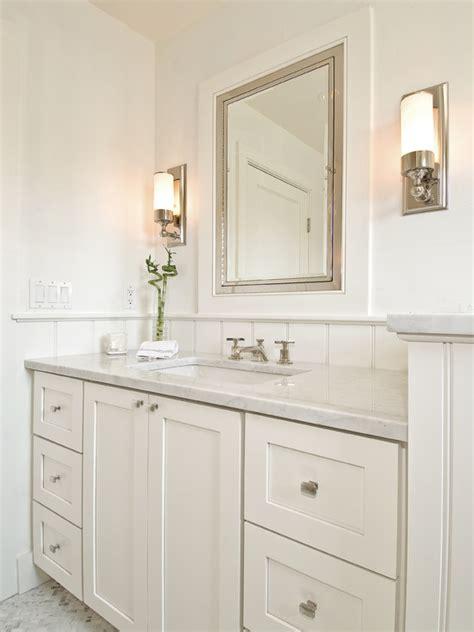 Bathrooms With White Cabinets White Medicine Cabinet Country Bathroom Svz Interior Design