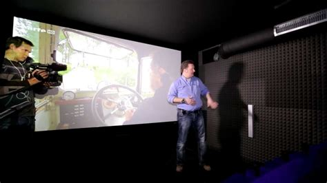 heimkino privat das 20 sitzplatz kino mit dem 4k projektor sony