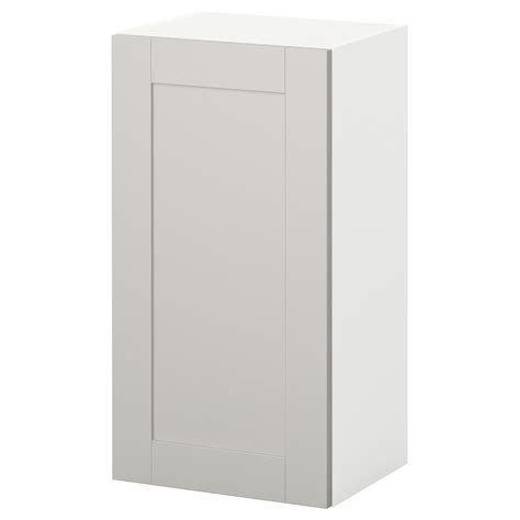 modular kitchen wall cabinets knoxhult wall cabinet with door grey 40x75 cm ikea