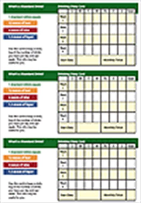 diary card and change plan template patient