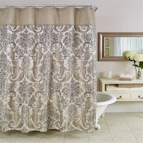 elegant bathroom curtains elegant shower curtain be our guest pinterest