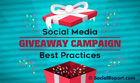 Social Media Giveaway - social media giveaway caign best practices