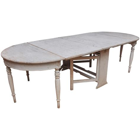 swedish gustavian dining table for sale at 1stdibs