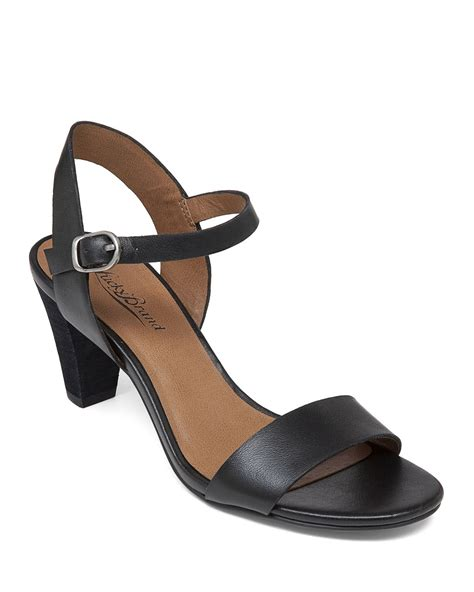 ankle sandals lucky brand ankle sandals pepperr mid heel in