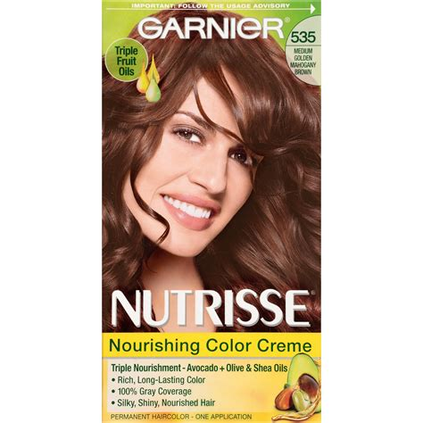 garnier hair colors garnier nutrisse nourishing color foam light
