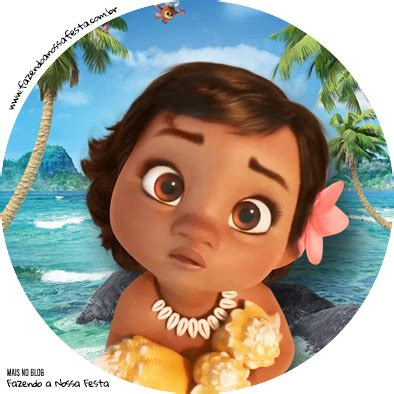 Topper Moana 01 moana baby cupcakes free printable wrappers and toppers oh my baby