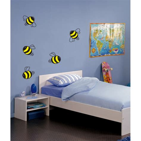 bee wall stickers wall stickers bumble bees wall vinyl