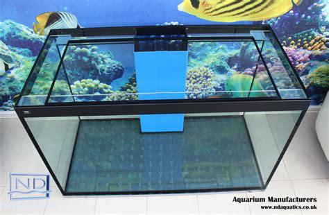 aquarium weir design nd aquatics 48x30x24 marine aquariums aquarium