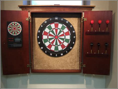 Dartboard And Cabinet Combo by Custom Dartboard Cabinet Plans Inspirative Cabinet