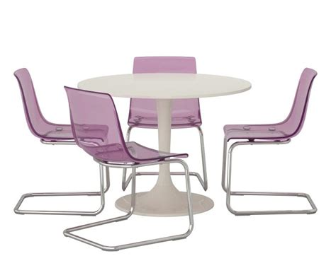 tobias chair lilac chrome plated pantone color tobias