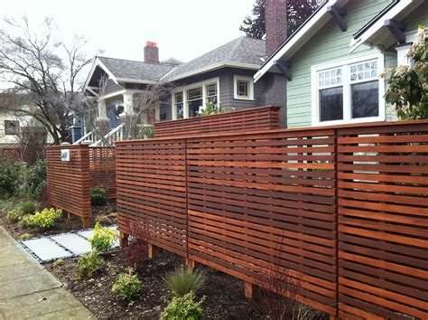 Diy Privacy Fence Ideas Home Fences Designs