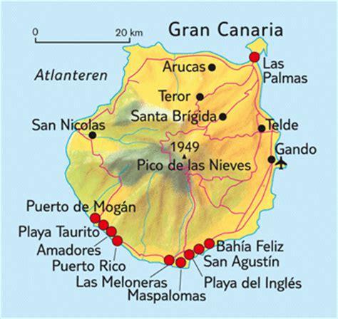 porto gran canaria map car hire mog 225 n car hire gran canaria
