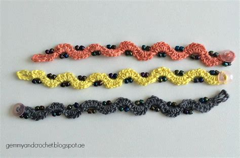 beaded chains patterns all about crochet free pattern beaded crochet chain bracelet