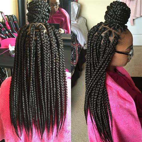 jumbo box braid how much hair needed hair colors suitable for black women