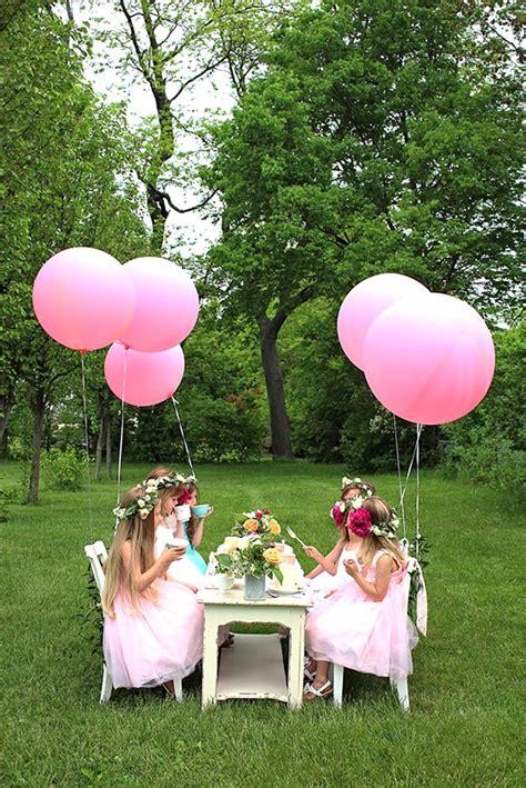 backyard tea party bird s party ideas magazine tea parties garden tea