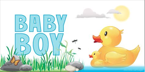 Baby Shower Banner Sayings Ideas by Santiago Illustrator Baby Shower Banners