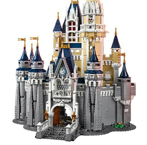 the new lego disney world castle costs how much disney